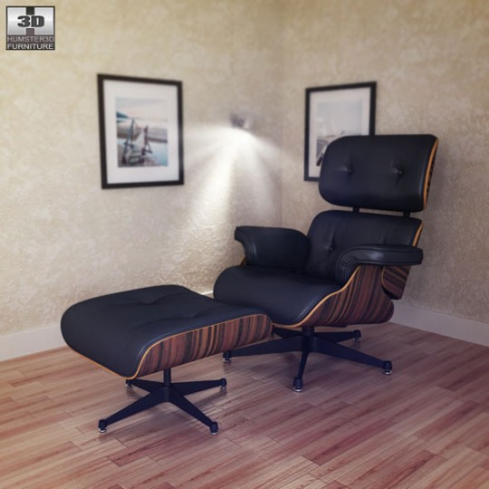 charles eames lounge chair and ottoman-okuma koltuğu (17)