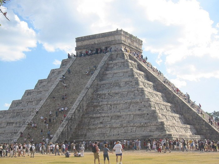 chichen itza piramidi