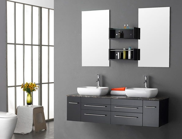 modern iftli lavabo modelleri 12 ev dekorasyon fikirleri nerileri. Black Bedroom Furniture Sets. Home Design Ideas