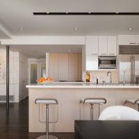 2015 clean-simple-modern-white-kitchen-decorating.  Beyaz İle Modern Fotoları
