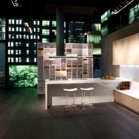 En Yeni Moda Modern Kitchen Design with Exotic Color.  Tasarımları