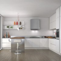 İlginç Simple and Sleek Kitchen Design. Görselleri