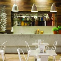 Şık Modern And Rustic Kitchen Design Foto Wallpaper 01: Modern And Rustic Dizaynları